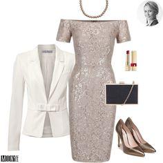 Béžové čipkované šaty s flitrami – MODNYSVET