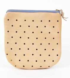 Leather punched bag organizer by Pine   Boon $38 www.mooreaseal.com