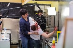 Ziad Abaza & Cerys Jones in K-SHOP #kshopmovie Watch full K-Shop movie at www.kshopmovie.com/watch