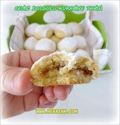 Ceviz Dolgulu Kurabiye Tarifi-kurabiye tarifleri,içi dolgulu kurabiye,dolgulu kurabiyeler,kurabiyeler ve tarifleri,herrenk kurabiye,kurabiyeler herrenk,kurabiyeler herrenk mutfağı,tatlı kurabiye,değişik kurabiye tarifleri,