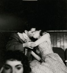 Lovers at the Movies by Weegee (Arthur Fellig) c. 1940