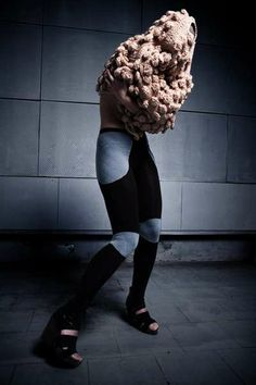 Polish fashion designer Anna Dudzinska
