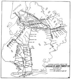 Brooklyn Rapid Transit system 1912