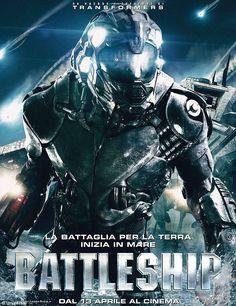 Rihanna plays with big guns in Battleship movie poster   Daily ...