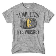 Templeton Rye Whiskey Tee #whiskey #vintage Tailgate Outfit, Tiger T Shirt, Vintage Style Outfits, Lsu, Mens Clothing Styles, College Football, Templeton Rye, Rye Whiskey, Whisky