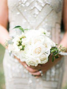Ranunculus bridesmaid bouquet: http://www.stylemepretty.com/florida-weddings/miami-fl/2015/07/22/romantic-destination-garden-wedding-at-the-villa-woodbine/   Photography: Amy Jo Royall - http://amyjoroyall.com/
