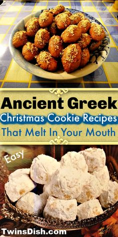 Ancient Greek Christmas Cookie Recipes Santa Most Likely Ate - Twins Dish