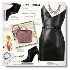 """BUYOURBAG 8"" by ramiza-rotic ❤ liked on Polyvore featuring Yves Saint Laurent"