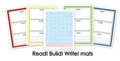 Educational Freebie: WordBuilder printable mats - Money Saving Mom®