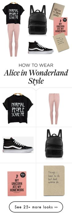 """""""Normal school day"""" by anapajovic23x on Polyvore featuring Dorothy Perkins, Vans and Elizabeth and James"""