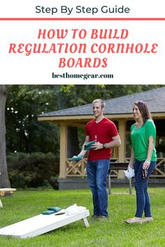 How to Build Regulation Cornhole Boards How to Make Cornhole Boards Yourself? Easy Guide With Step by Step instructions To Make Own Regulation Size Cornhole Boards. Cornhole Board Plans, Make Cornhole Boards, Diy Wood Projects, Outdoor Projects, Garden Projects, Regulation Cornhole Boards, Outdoor Fun, Outdoor Games, Outdoor Ideas