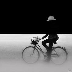 London Fog. bike