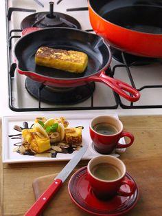 Kitchen Tool : バレンタインデーを素敵に演出する、キッチンツール/「ル・クルーゼ」の「スキレット」 #kitchentools