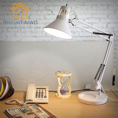 32.00$  Buy now - http://aliht5.shopchina.info/go.php?t=32800605128 - E27 LED Student Study Dormitory Work Office Dormitory Bedroom Long Arm Folding Clip Night Lights Table Lamp Study Book Desk Lamp  #buyonlinewebsite