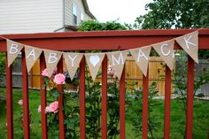 Pregnancy Announcement, Baby Announcement, Baby Name, Burlap Banner, Bunting, Garland