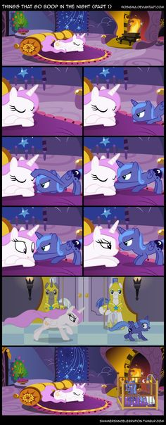 Things That Go Boop in the Night (Part 1) by 90Sigma.deviantart.com on @deviantART