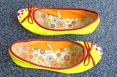 my DIY flats #DIY #shoes
