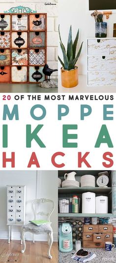 You have all proven that you love a good Collection of IKEA Hacks!  When I heard that the IKEA Moppe was back (even though they changed the design a bit) I was so happy I decided to put a post together covering The Most Marvelous Moppe IKEA Hacks!  It is such a great little piece …