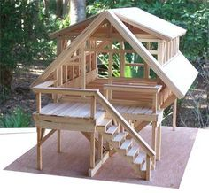 ThunderHomes Disaster Relief Housing Unique Custom Housing is part of Timber house - Timber House, Wooden House, Shed Plans, House Plans, Popsicle Stick Houses, A Frame House, Tiny House Design, Cabin Design, Pergola Plans