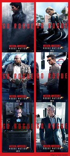 MISSION: IMPOSSIBLE | ROGUE NATION | Tom Cruise, Jeremy Renner, Ving Rhames, Simon Pegg, Rebecca Ferguson, Alec Baldwin