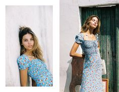La Femme | FAITHFULL THE BRAND | INTERNATIONAL Beautiful Outfits, Cool Outfits, Summer Outfits, Spring Fashion Trends, Spring Summer Fashion, Mono Floral, Botanical Fashion, Vogue, Faithfull The Brand