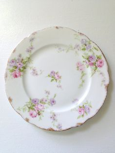 Antique Theodore Haviland Limoges France Plate / Dish Tea Party Gathering Replacement China  - c. 1904 - 1920's