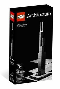 LEGO Architecture Willis Tower (21000) by LEGO Architecture. $19.12. Collect the entire Landmark and Architect series sets. Booklet included with details on design and history (English language only. Other languages available for download). Interpretation of real-world architectural landmark Willis Tower. LEGO Architecture inspires future architects, engineers and designers as well as architecture fans around the world using the LEGO brick as a medium for reproducing es...