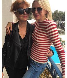 Naomi Watts et Susan Sarandon http://www.vogue.fr/mode/inspirations/diaporama/cannes-2016-le-festival-de-cannes-sur-instagram/33850#naomi-watts-et-susan-sarandon