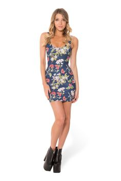 Gorgeous Garden Navy Dress › Black Milk Clothing