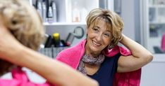 Haircuts for women over 50 don't have to be dull. Furthermore, the right haircut can make you look younger or highlight your best mature features. Thick Short Hair Cuts, Thin Hair Short Haircuts, Edgy Short Hair, Layered Bob Hairstyles, Hairstyles Over 50, Short Hair With Layers, Cool Haircuts, Wig Hairstyles, Short Hair Styles