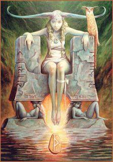 HEL – Deusa do submundo, filha de Loki com a gigante Angrboda. Tinha como irmãos o lobo Fenris e a serpente Midgard, monstros inimigos dos deuses. O mundo inferior é chamado de Helheim. Segundo o mito Hel foi enviada para esse local por Odin. O mundo de Hel ficava as margens do rio Nastronol. Em seu reino iam as pessoas que morriam por doença ou velhice. Tinha como companheiros a Fome, a Inanição, o Atraso, a Vagareza, o Precipício e o Sofrimento. Era representada metade de seu corpo como…