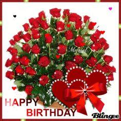 Happy Birthday Flowers Gif, Happy Birthday Didi, Happy Birthday Special Friend, Happy Birthday Hearts, Happy Birthday Greetings Friends, Happy Birthday Wishes Photos, Happy Birthday Wishes Images, Happy Birthday Celebration, Happy Birthday Typography