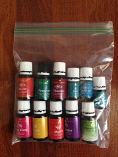 Essential Oils for Vacation, and How to Pack Them for Travel!
