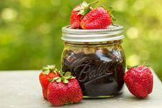Pom Strawberry Jam- I need to start Canning!