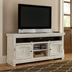 Hillsboro Flat Screen Tv Wall Cabinet Amp Console For The