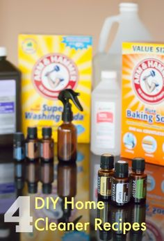 4 DIY Home Cleaner Recipes