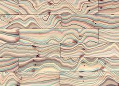 Marble flooring by snedker studio