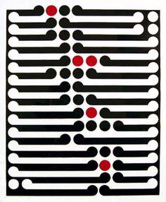 Gordon Walters: Tawa 1969 -Koru - Ngā Toi Arts Te Papa - Museum of New Zealand Te Papa Tongarewa Textures Patterns, Print Patterns, Art Maori, Maori Patterns, Maori Designs, New Zealand Art, Nz Art, Grafik Design, Graphic Design Illustration
