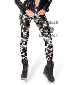 Sky Digital printing Digital crow sexy Black milk leggings slim skinny pants feet women fashion new Leggings Mode, Galaxy Leggings, Fall Leggings, Printed Leggings, Leggings Fashion, Women's Leggings, Halloween Leggings, White Leggings, Backgrounds