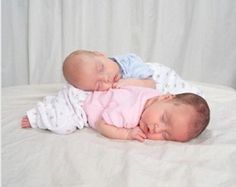 How to get sleep when you have twins - swaddle, sleep them together, get them on the same feeding schedule, get help, take shifts with your spouse for night feedings
