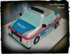 Cake Police Car / Polizeiauto Torte