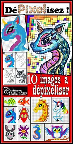 Le Pixel Art est très populaire. C'est un art vraiment intéressant, qui tient son origine des jeux vidéo des années 70. Un pixel est le plus petit élément d'une image. Dans le Pixel Art, les artistes créent des œuvres avec des carrés (pixels) uniquement. Dans ce projet, vos élèves auront à choisir une image en pixel. En quelques étapes, ils apprendront à la « dépixeliser » et à réaliser une œuvre originale. Pixel Art Original, Original Artwork, Image Pixel Art, Video Game Art, Video Games, Commercial Art, Middle School Art, Art Lesson Plans, Art Plastique