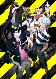 Blood Lad, just started watching this anime :3