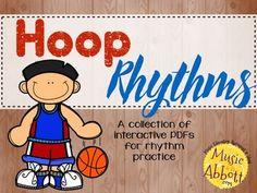 50% off- Hoop Rhythms {A Bundled Set of Rhythm Games