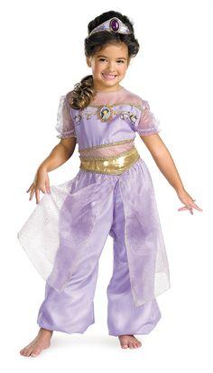 Aladdin Jasmine Deluxe Toddler / Child Costume