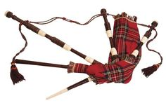 how to: Miniature Bagpipes Tutorial -  Don't have a project that this would fit into but it's soooo cute