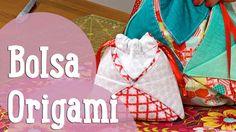 Bolsa Origami - Costura Comigo