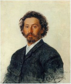 Ilya Repin Self Portrait - 1887