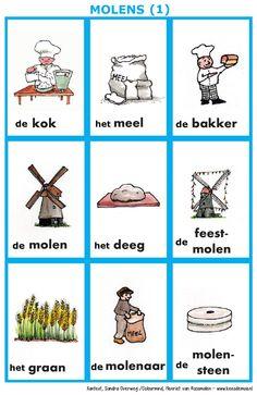 Woordkaarten : molens (1)