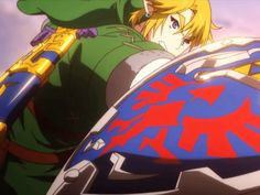 Link | Hylian Shield